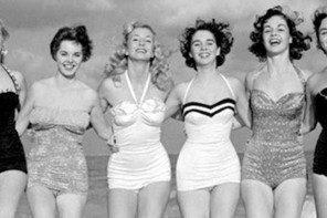 Sexy 50er Jahre Mode – Bikinis und hübsche Badeanzüge
