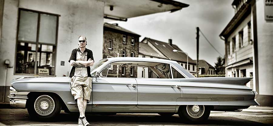Luxus-Rock'n'Roller – Danny fährt Caddy