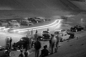 Illegale Straßenrennen in den 50ern