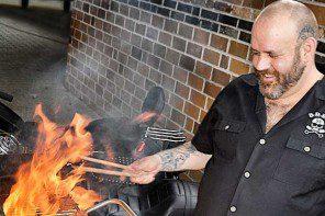 Grillen mit dem Rock'n'Roll Veganer Jérôme Eckmeier