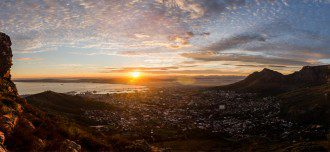 Daniel Manners: Cape Town Winter Sunrise