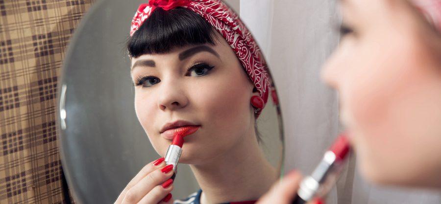 Vintage Make-up – denn rote Lippen soll man küssen