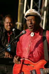 Chuck Berry im Alter