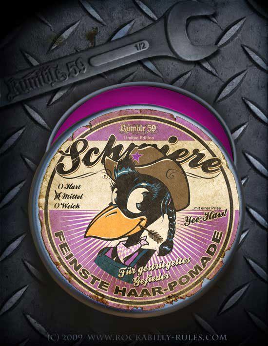 Pomade Schmiere Limited Edition für Mädels