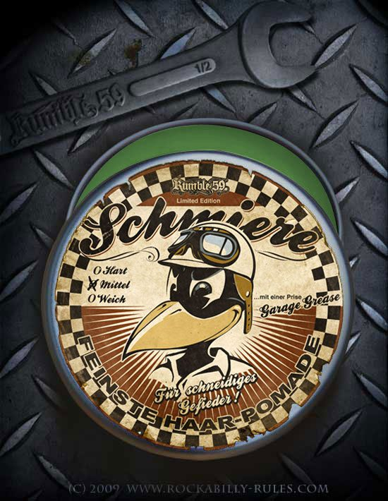Pomade Schmiere - Rumble59 Limited edition