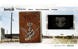 neue Rumble59 website als Screenshoot