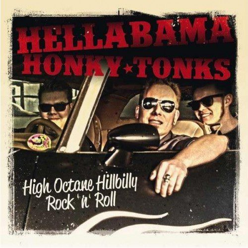 Hellabama Honky Tonks - like a roarin postcard from the Swamps!
