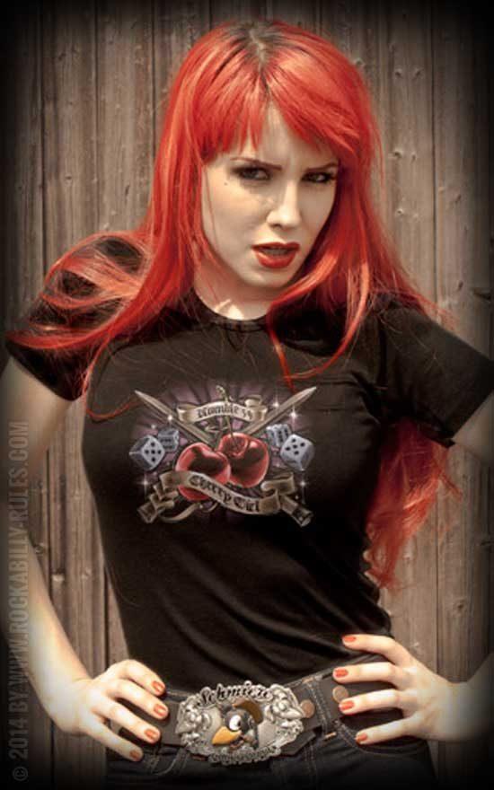 Cherry Girl T-Shirt by Rumble59