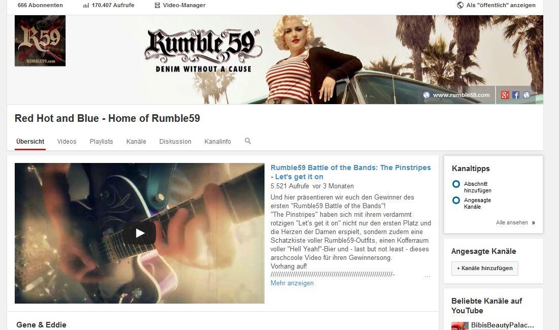 You Tube Kanal Rumble59