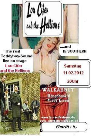 Lou Cifer and the Hellions im Walkabout