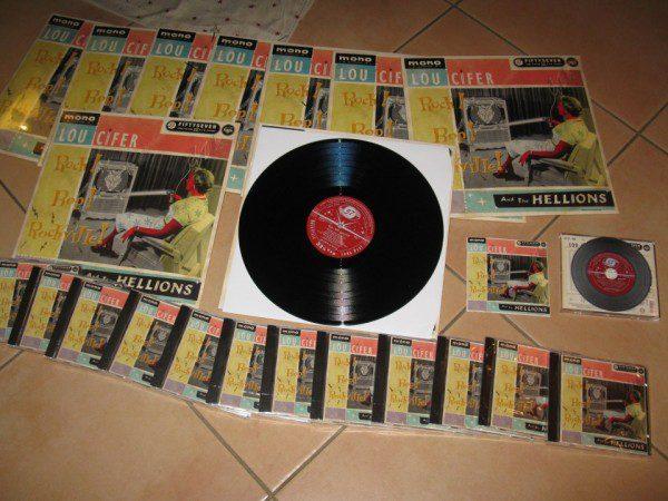 Lou Cifer and the Hellions - Rock! Bop! Rockville CD
