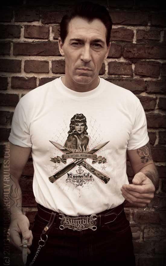 T-Shirts von Rumble59