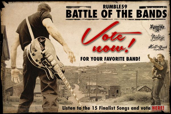 Battle of the Bands - Voting