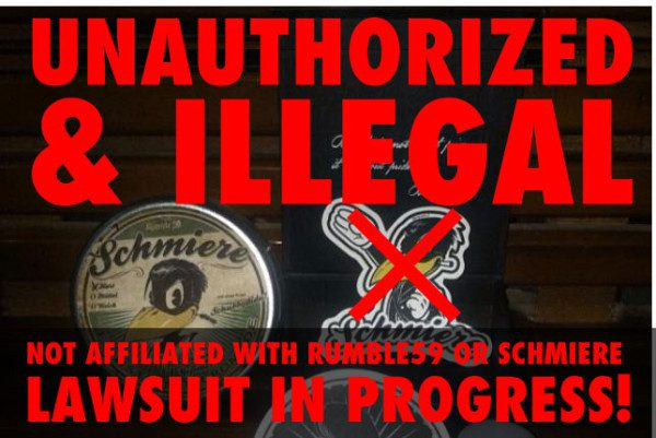 unauthorized & illegal