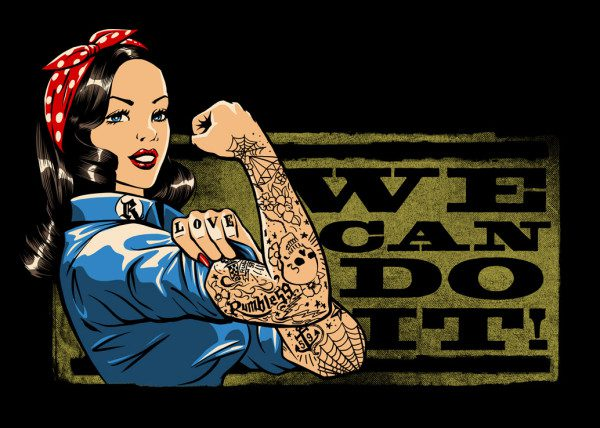 We Can Do It Die Story Von Rosie The Riveter Rockabilly Rules