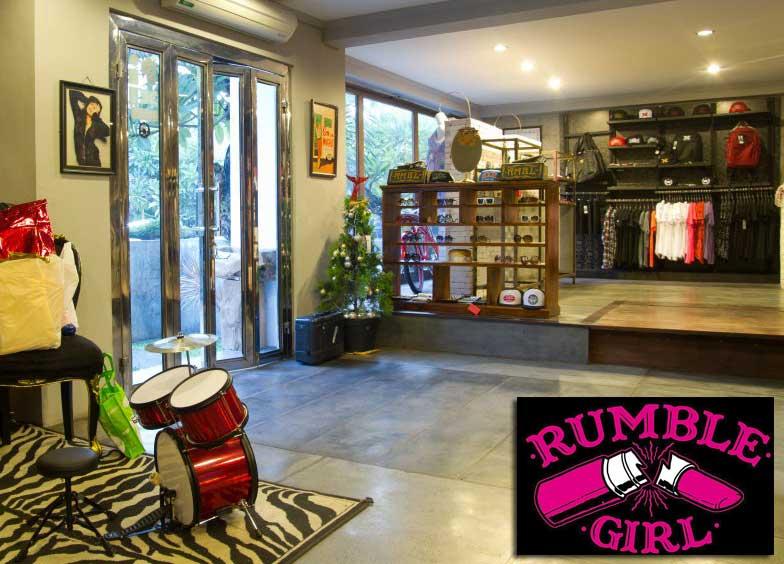 Rumble Girl - Bali - Rockabilly Indonesien