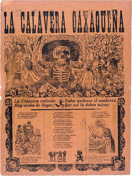 Dias de los Muertos - Calavera Catrina