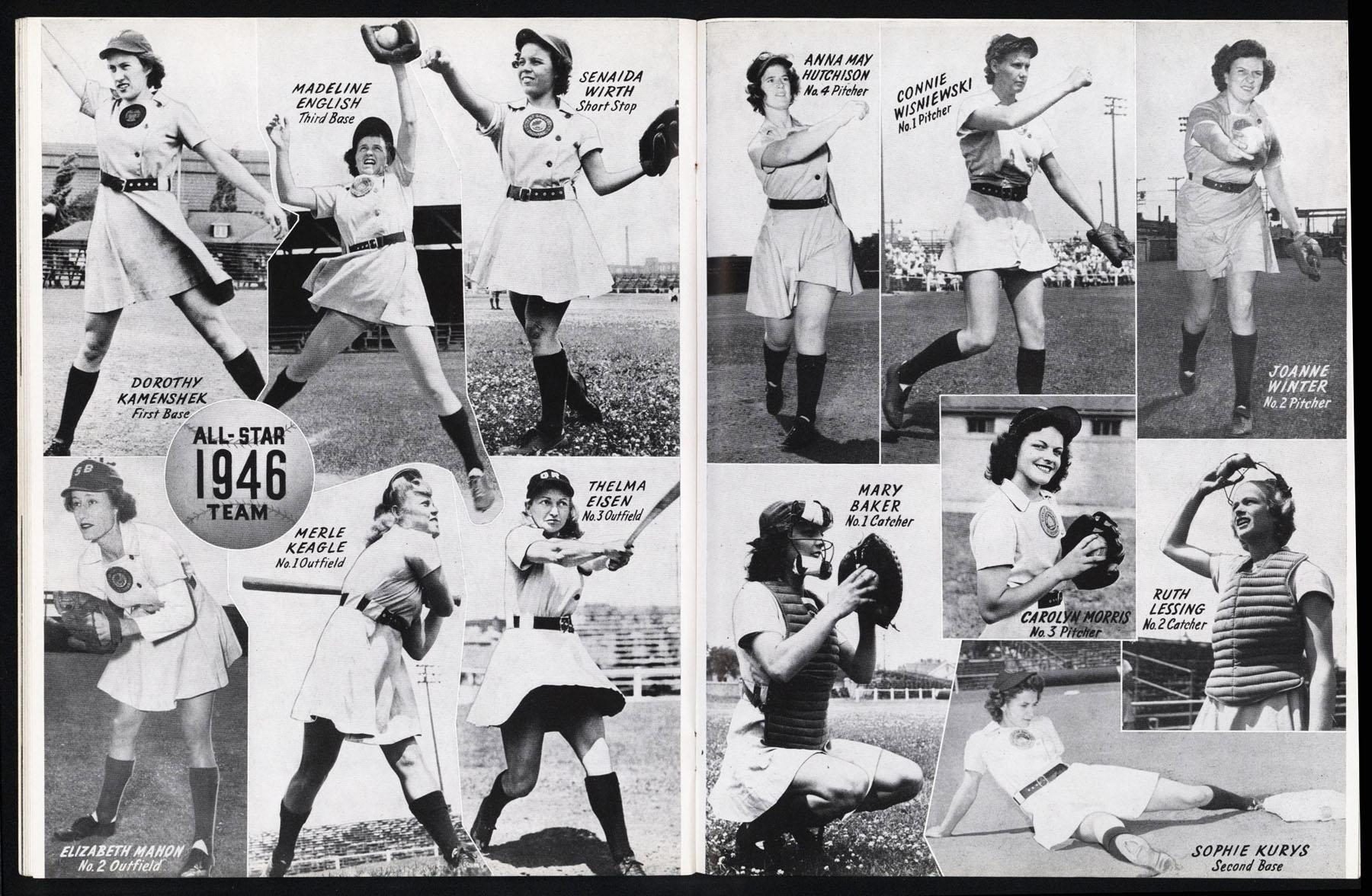 Ladys baseball Team
