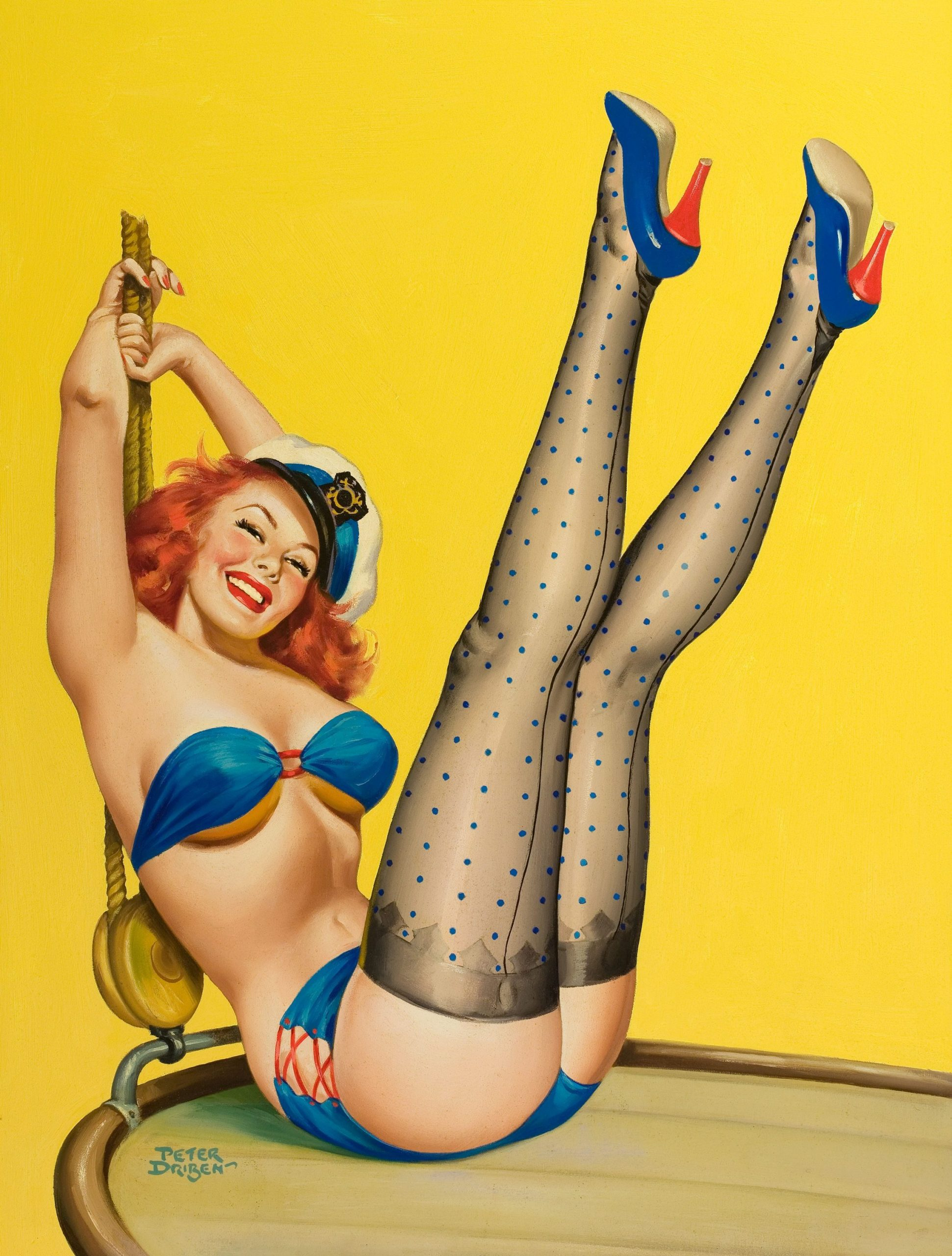 PinUp Sailor Girl