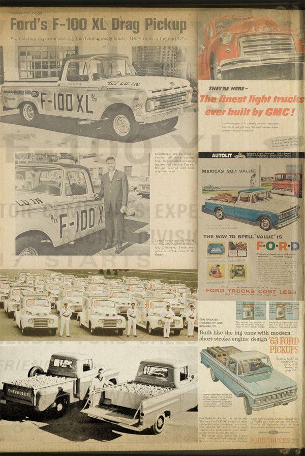 Ford PickUp F-100 XL