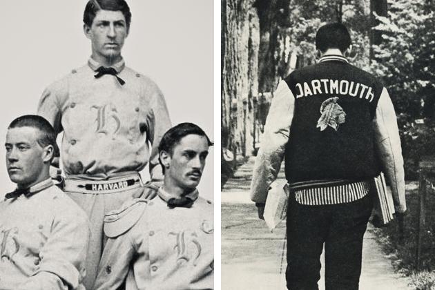 College Jacke oder auch Letterman Jacket