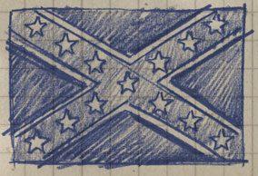 Südstaaten Flagge Tattoo - Bedeutung & Hintergründe