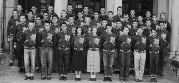 College Jacke 50er Jahre