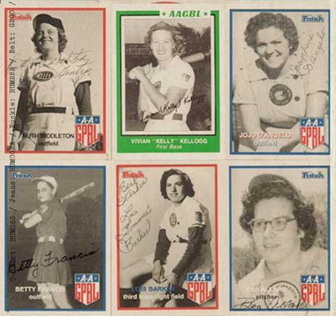 Frauen Baseball Mannschaft