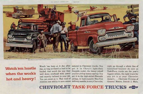 Chevrolet Task Force Trucks
