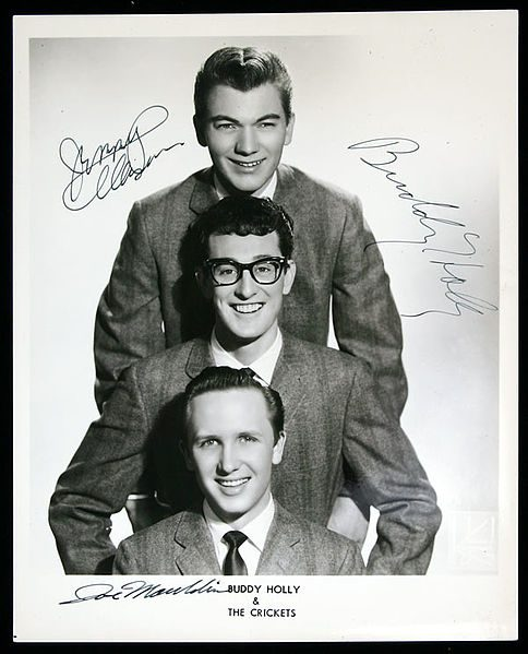 Buddy Holly & The Crickets publicity
