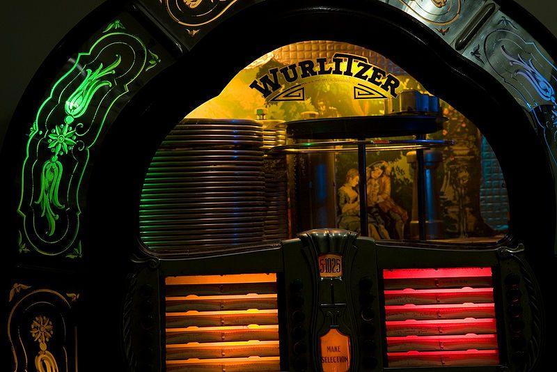 Jukebox von der Firma Wurlitzer