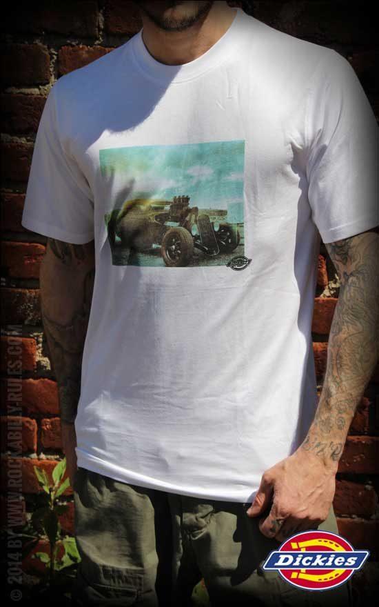 Auch coole Hot Rods kommen auf Shirts von Dickies Workwear nicht zu kurz- (C) Rockabilly-Rules