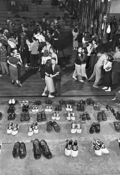 Saddle Schuhe - Tanzparty