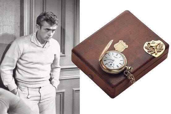 Zur Versteigerung stand die Glückuhr von James Dean inklusive der originalen Box -(C) online.wsj.com