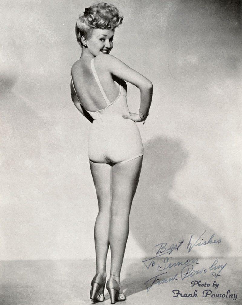 Pin Up-Bild - Betty Grable