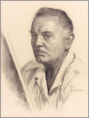 Portrait von Gil Elvgren, dem wohl berühmtesten Pin Up Künstler (C)-wikimedia.org
