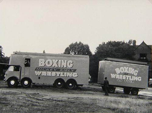 kirmesboxen 50er Jahre boxbude USA