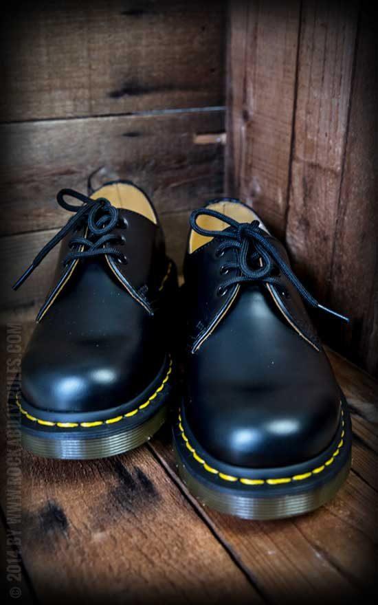 Doc Martens Schuhe -3 Loch-Last Black
