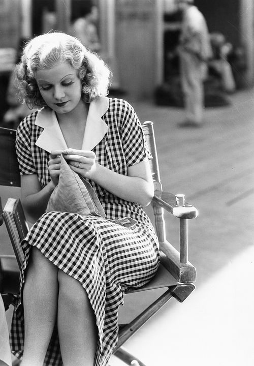 Vintage Mode und Vintage Kleider - Jean Harlow