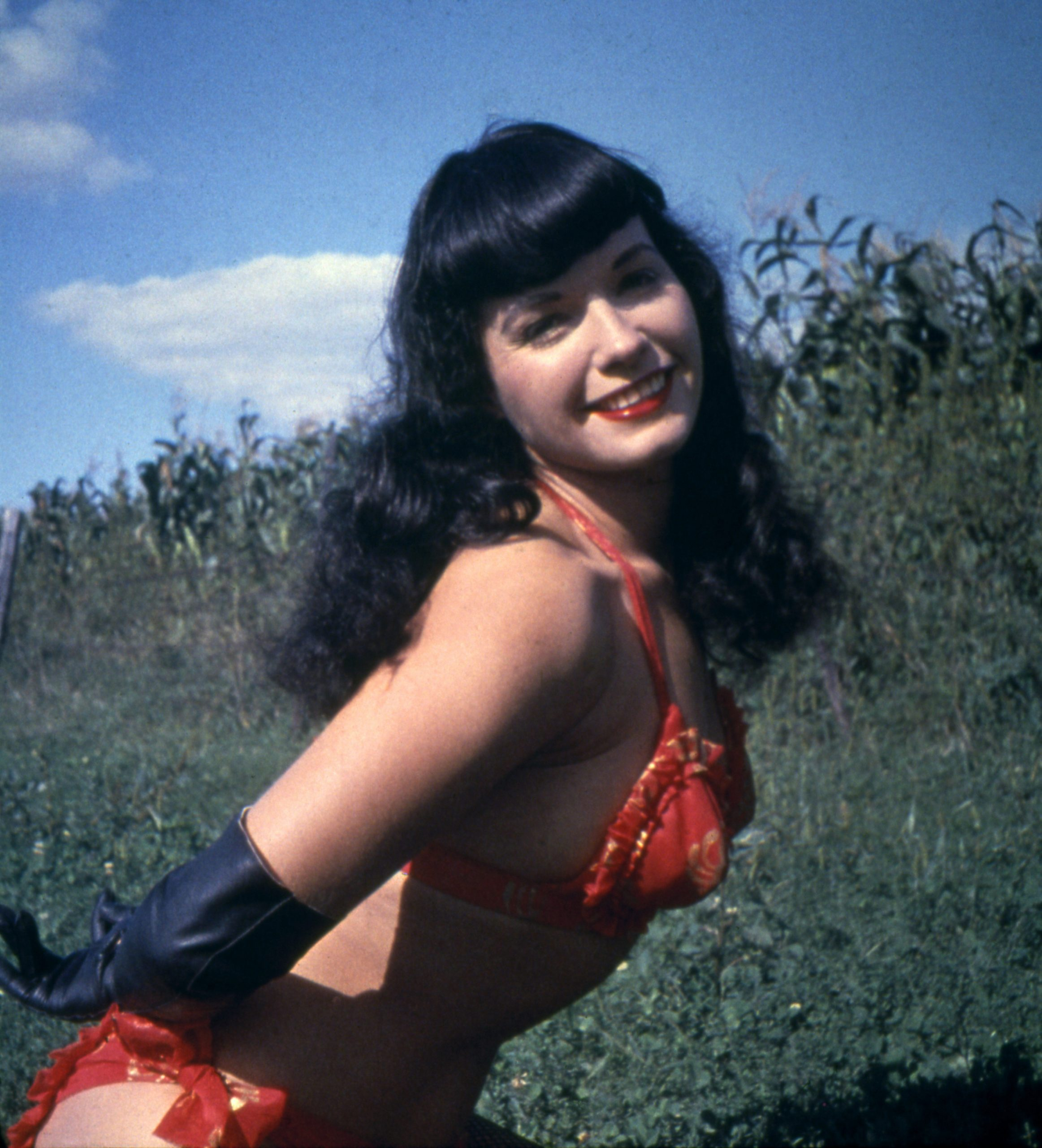Bettie Page PinUp Model