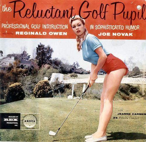 Jeanne Carmen modelte für Golfhersteller und war professionelle Trick-Golfspielerin-(C) flickr.com