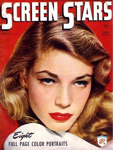 Lauren Bacall zierte zahlreiche Titelseiten diverser Magazine-(C) pinterest.com
