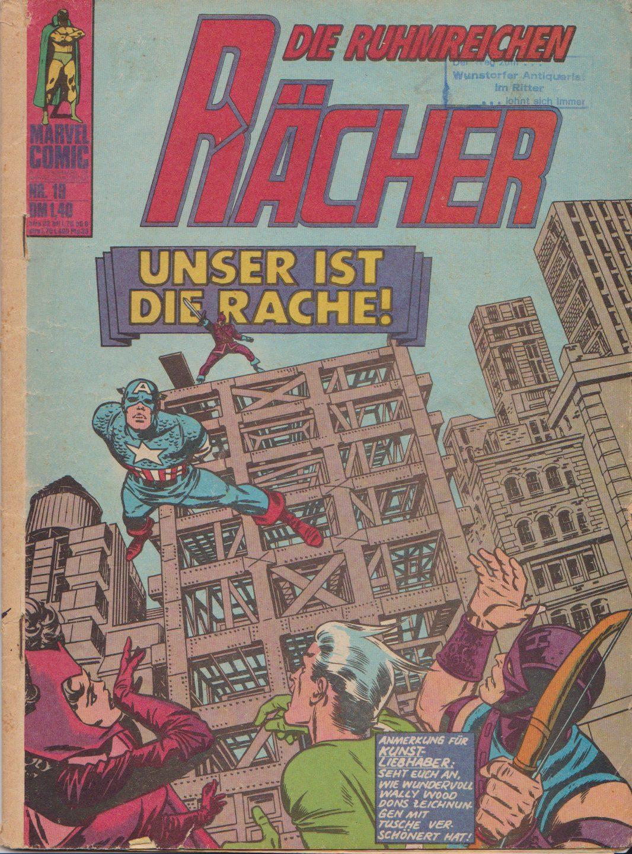 Marvel Comics - Die ruhmreichen Rächer
