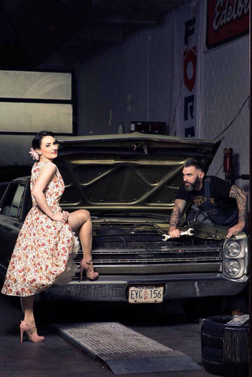 Emily La Rose - Retro Pin Up Model