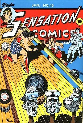 Sensation Comic Wunderwoman
