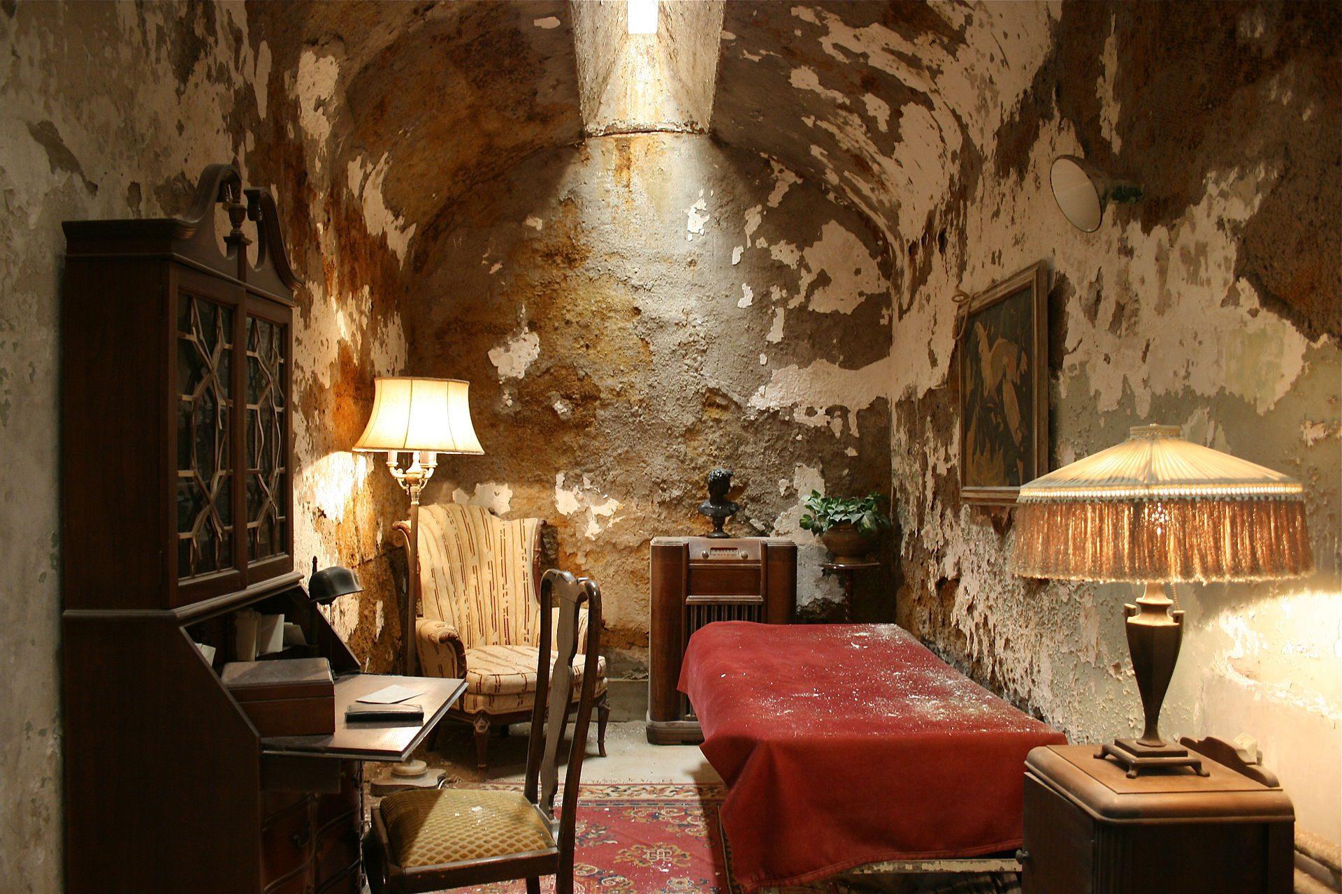 Die Gefängniszelle von - Al Capone