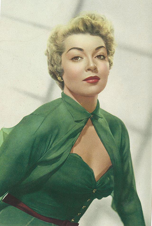 Die schöne Schauspielerin Lana Turner im Jahre 1951-(C) wikimedia.org