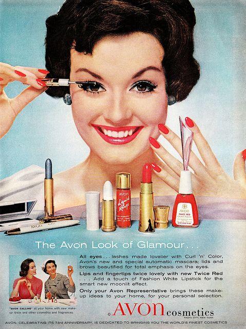 Das Augen-Make Up in den 1950er Jahren war eher minimalistisch-(C)pinterest.com