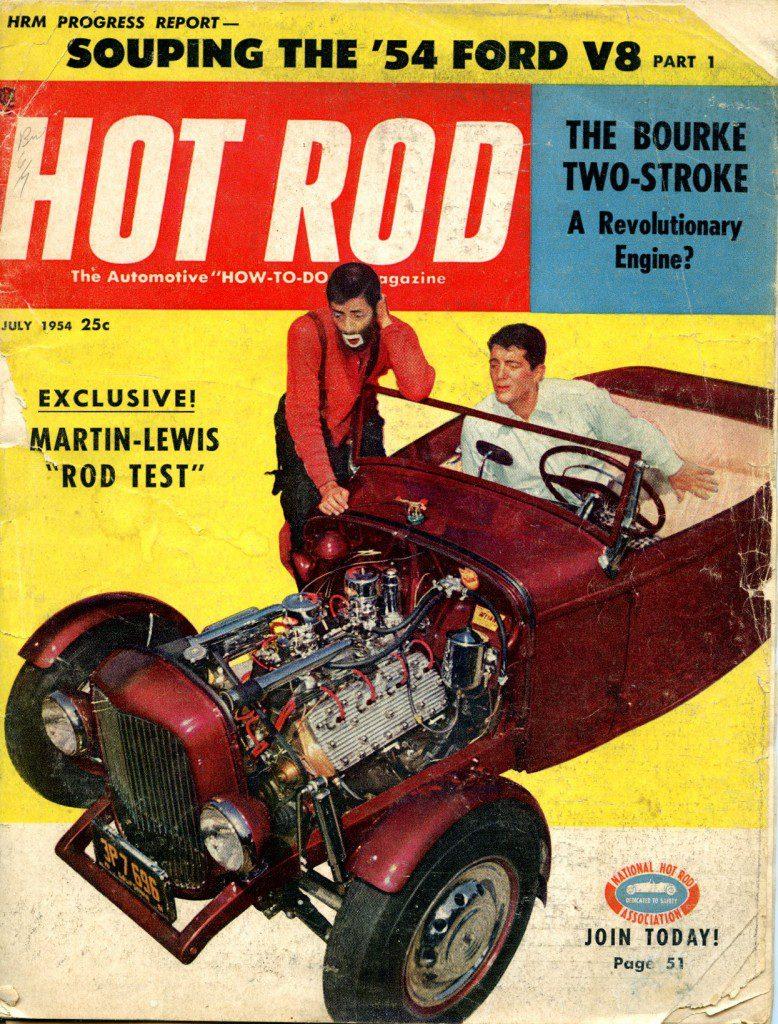 Hot Rod Magazine 1954