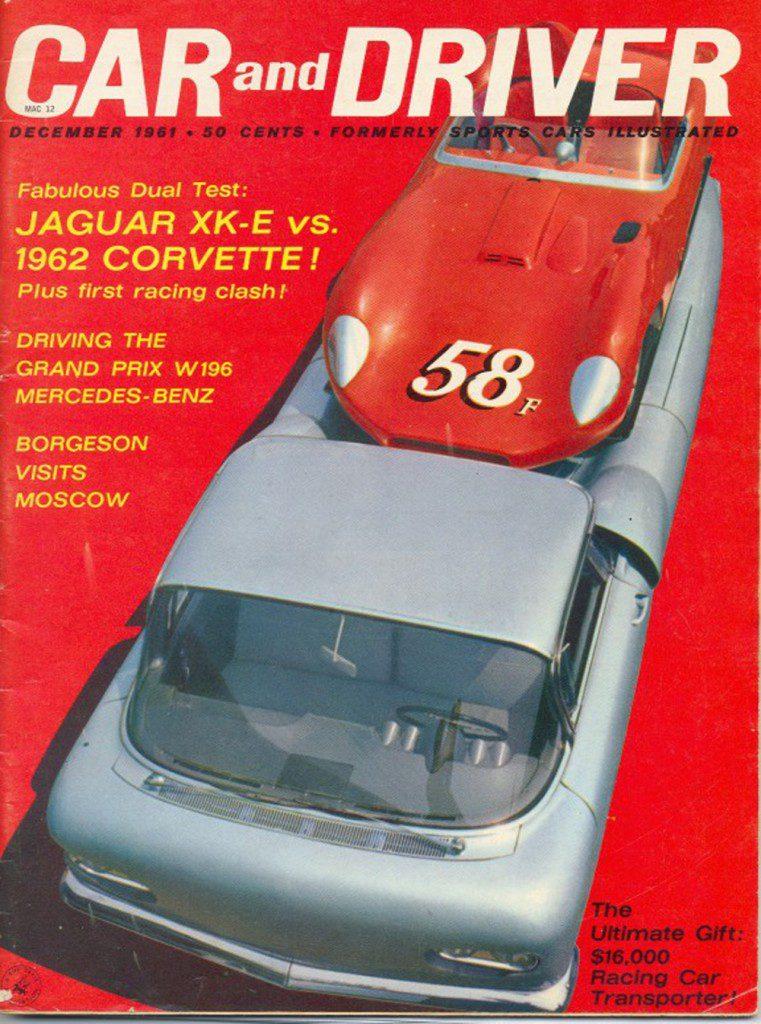 Car & Driver Magazin - Dezember 1961
